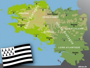 carte de Breizh Izel