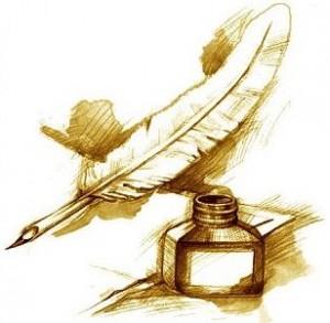 plume encrier