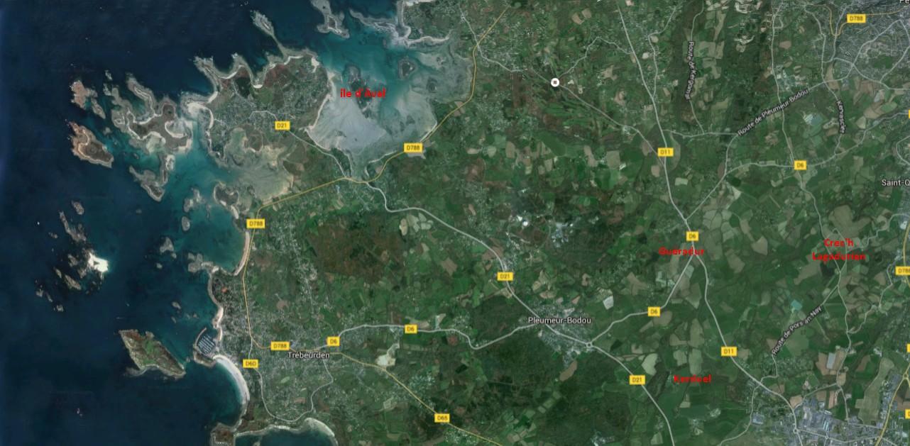 carte région pleumeur
