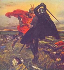 combat arthur mordred